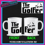 THE GOLFER GOLFING GOLF MUG